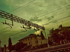 EVERY TRIP (napocapo) Tags: trip station train treno viaggio latisana