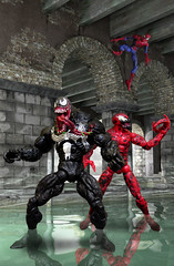 Spidey_Venom_Carnage (Zelevol) Tags: spiderman peterparker carnage marvellegends ml venom