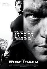 Poster The bourne ultimatum Matt Damon Paul Greengrass