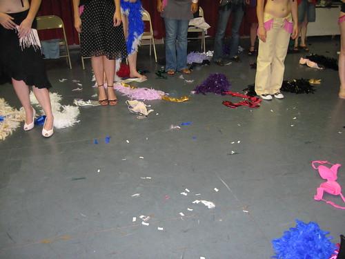 A School of Burlesque Bachelorette Party