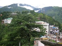 view from dalai lama's temple (jannypai's pp) Tags: dharamsala ganj mcleod