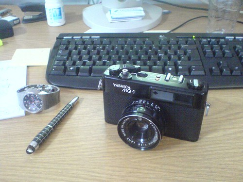 New Toy - Yashica MG-1