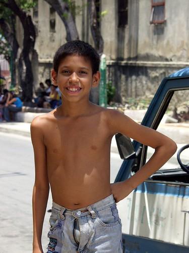 Cuban boys schoolgirl