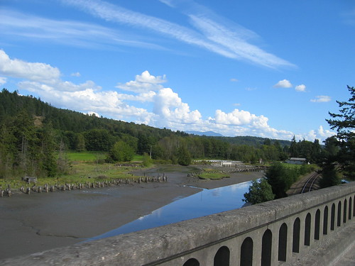 Mud Flats on Chuckanut Drive