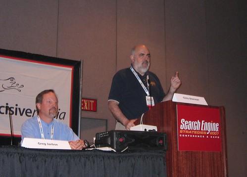 Chris Sherman and Greg Jarboe