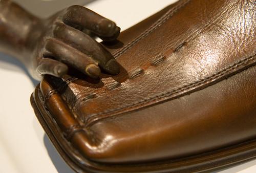 show brown leather bronze hand boots mark return zappos nason