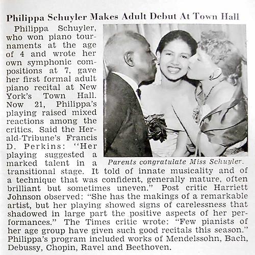 Pianist Philippa Schuylerschuyler town