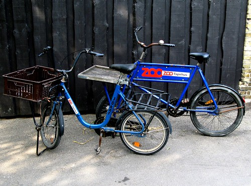 Tapir Bicycles outside the Tapir House at Copenhagen Zoo