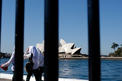 Preview: Sydney during APEC 2007 (ozczecho) Tags: world freedom bush power fear president protest sydney fences police special terrorism conference leaders policestate privacy preview 2007 barricades apec delegates overreaction worldleaders lockdown freesoceity policespecialpowers