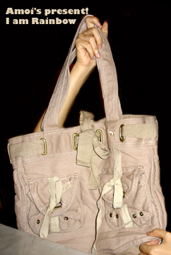 Amoi's present 2007 - a bag!