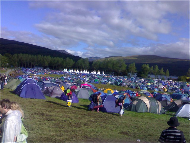 Connect Festival Campsite