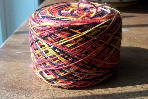 Thank Ewe Sock Yarn, Firedancer