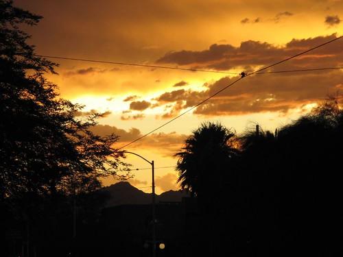 Tucson Sky in August