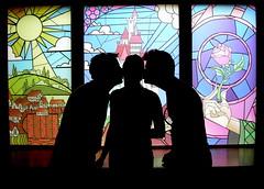 Disney Epcot Silhouette Silhouette Paul Epcot