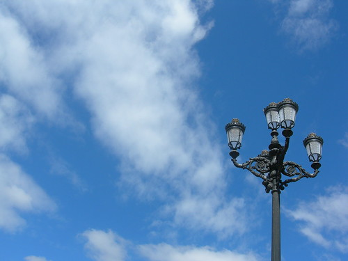 Los Cielos Azules de la Plaza Mayor