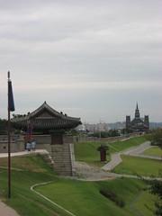 Hwaseong Fortress Walk in Suwon