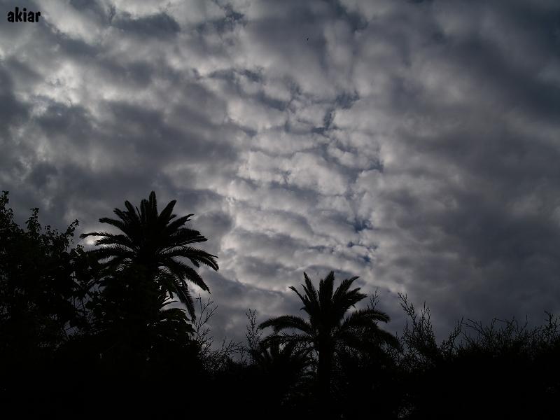 ...se nos parte el cielo...