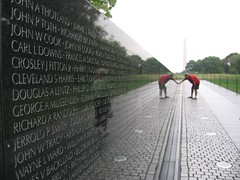 Vietnam Wall (triitalian) Tags: world monument netherlands museum arlington smithsonian dc washington marine memorial war cathedral space air whitehouse vietnam ii corps lincoln jefferson carillion hoyt iwo jima metrotrain panel42e