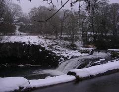 Scotts Mills Falls 12.22 (Fiberjoy) Tags: snow waterfalls scottsmills