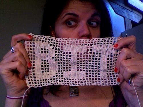 Filet Crochet #1
