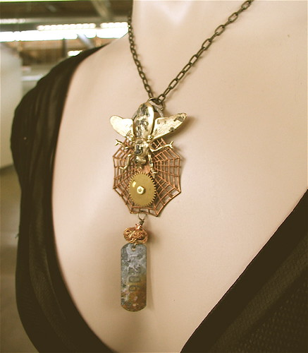 Steampunk Necklace, The FLY!