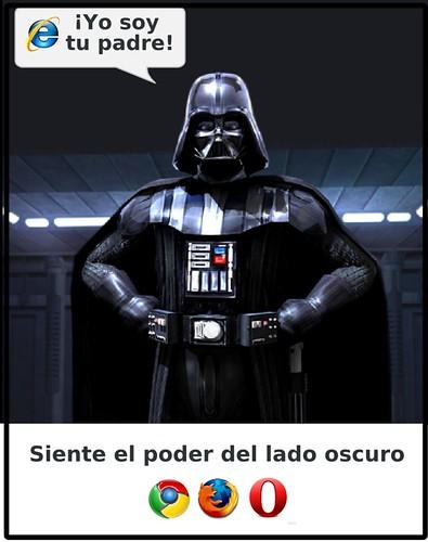 Siente el poder del lado oscuro