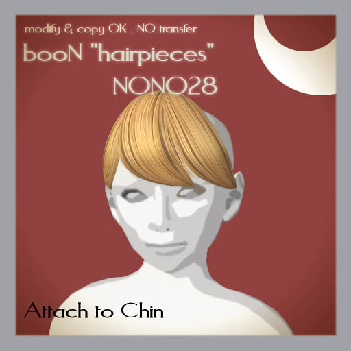 booN hairpiece NONO28