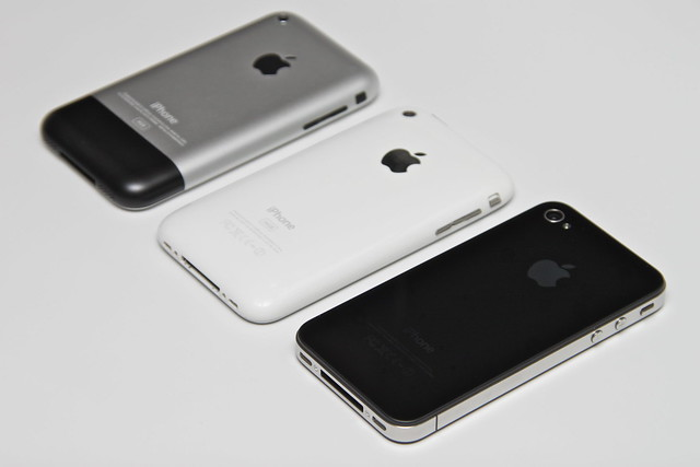 Original iPhone + iPhone 3G + iPhone 4