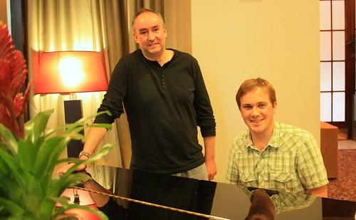 Paul Hilton and Ben Motley