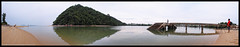Pantai Bukit Keluang, Besut. (AnNamir c[_]) Tags: panorama canon eos kitlens panoramic malaysia 7d hdr terengganu besut annamir abadaniell getokubicom flickrtravelaward