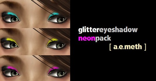 Glitter Eyeshadow: Neon Pack
