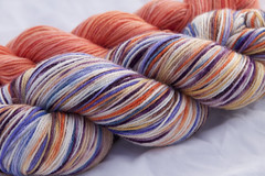 *sale* Remnant on Neverending Sock Yarn- 3.7 oz. (...a time to dye)
