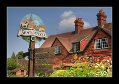 Shackleford HDR..3 June 2007 (strussler) Tags: england sign canon eos village postoffice sigma surrey 5d hdr shackleford 3xp tonemapped aplusphoto flickrelite