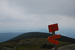 Mt. Moosilauke summit photograph