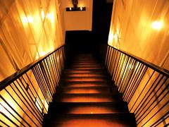 sapa stairs II (Klodiana Alia) Tags: newyorkcity stairs restaurant sapa goingdown
