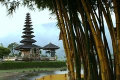 Bratan (Farl) Tags: bali lake colors indonesia temple volcano pagoda grove bamboo hindu hinduism pura tiers meru bratan ulundanu ulundanubratan