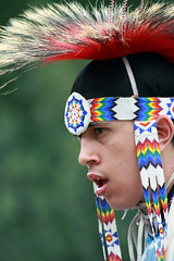 Poised To Powwow (Jack Hess) Tags: seattle washington indian nativeamerican magnolia seafair discoverypark powwow indianculturalcenter daybreakstar diamondclassphotographer 1on1colorfulphotooftheweek 1on1colorfulphotooftheweekjuly2007 unitedindiansofalltribesfoundation
