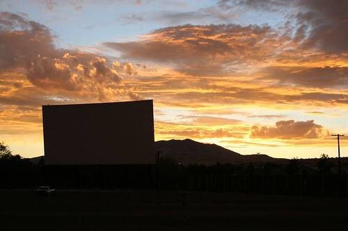 Drive-In Sunset