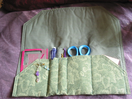 Knit/Crochet tool roll
