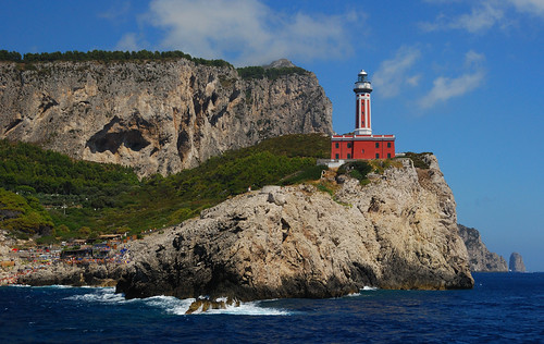 Point Carena Lighthouse, Capri