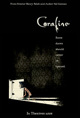 Coraline Poster (wardomatic) Tags: movie poster laika feature neilgaiman coraline henryselick laikaentertainment