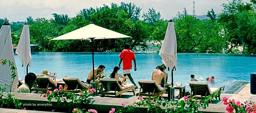Swimming Pool@Club Med, Mauritius