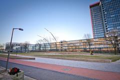 It's cold @ TU Delft Campus (Christiaan Brugge) Tags: chris terrain building campus rotterdam faculty tudelft civilengineering ewi citg civieletechniek faculteit technischeuniversiteitdelft christiaanbrugge chpbrugge facultyofelectricalengineeringmathematicsandcomputerscience universityoftechnologydelft cpbrugge cbrugge chrisbrugge