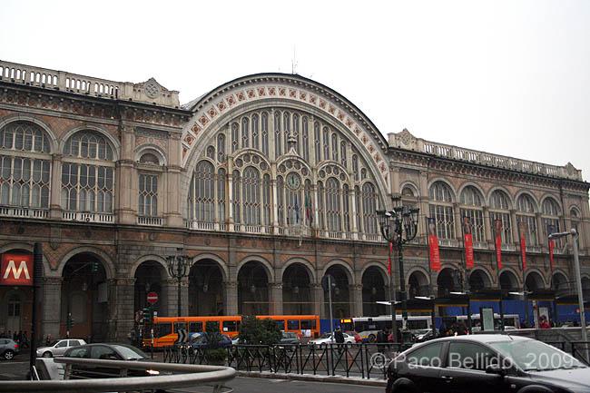 Estación Torino Porta Nuova. © Paco Bellido, 2009