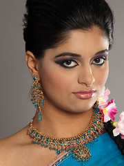 East Indian Bridal Portrait