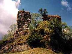 FINCHARN CASTLE (ruins of)