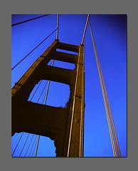 """""""Golden"""" Gate Bridge (RZ68) Tags: bridge color 120 film effects gold golden gate san francisco special velvia goldengate 6x7 provia rz67 e100 t64 rz68"""