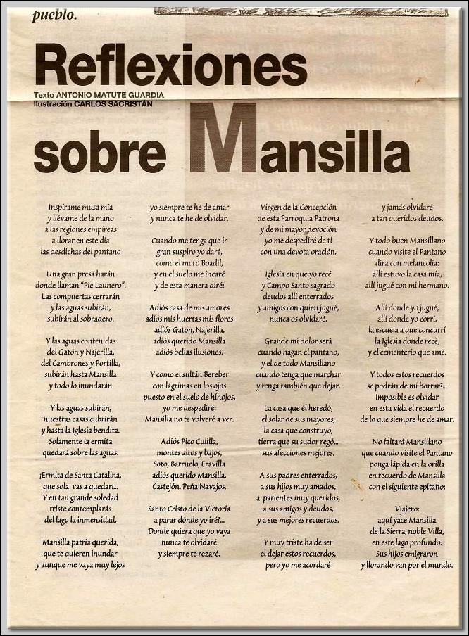 Reflexiones sobre Mansilla