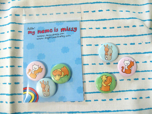 Hugs Button Set