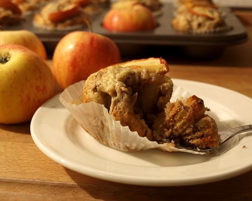 Bratapfelmuffins schmecken sehr